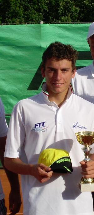 2008 Alessandro GIANNESSI, (ATP Nr. 84, ITA)
