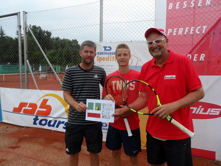 2016 Rudi MOLLEKER, (ATP Nr. 146, ITF Juniors Nr. 10, GER); Coach Michael KOHLMANN, (ATP Nr. 98, Davis Cup-Kapitän, GER)
