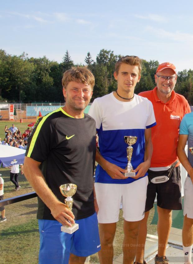 2018 Coach David SKOCH (links, ATP Nr. 30 (Doubles), CZE)